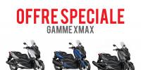 Offre Spéciale sur la Gamme XMAX 2018
